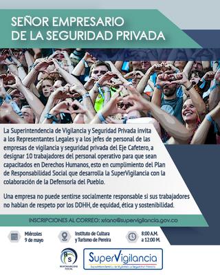 Capacitación en Derechos Humanos - Pereira -