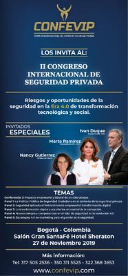 II Congreso Internacional de Seguridad Privada - Riesgos y oportunidades de la seguridad en la era 4.0 de transformación tecnológica y social