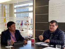 Mesa de trabajo entre el equipo de trabajo de la Supervigilancia y  Director de la Concesión RUNT S.A. Registro Único Nacional de Tránsito, Dr. Cesar García Bustamante